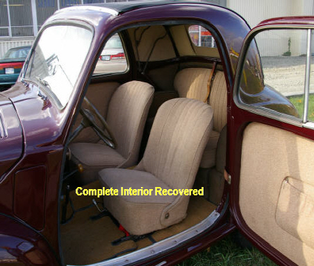 Car Interior Recovery
